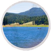 Catamount Fishermen Round Beach Towel