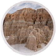 Cathedral Gorge Morning Round Beach Towel