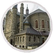 Cathedral In Buffalo Round Beach Towel