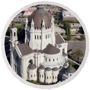 Cathedral Of St. Paul Round Beach Towel