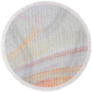 Cathedral Swirl Round Beach Towel