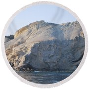 Cave Round Beach Towel