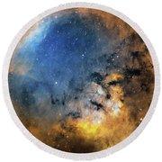 Cederblad 214 Emission Nebula Round Beach Towel