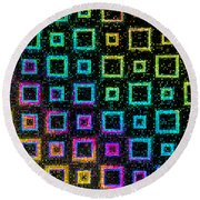 Celebration Round Beach Towel by Christi Kraft