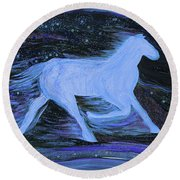 Celestial By Jrr Round Beach Towel