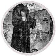 Celestine V (1215-1296) Round Beach Towel