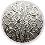 Celtic Glass Round Beach Towel
