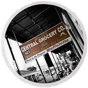 Central Grocery Round Beach Towel