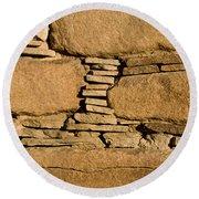 Chaco Bricks Round Beach Towel