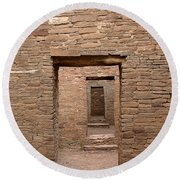 Chaco Canyon Round Beach Towel