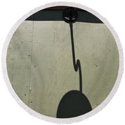 Chains Of The Sun  Round Beach Towel
