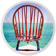 Chair Round Beach Towel