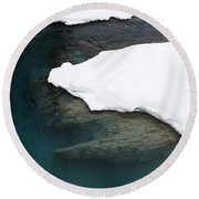 Changing Course Round Beach Towel
