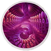 Chaos And Order Round Beach Towel