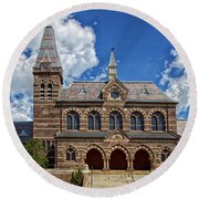 Chapel Hall Round Beach Towel