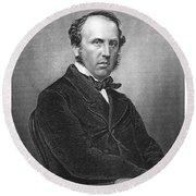 Charles Canning (1812-1862) Round Beach Towel