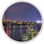 Charles River Country Club Round Beach Towel