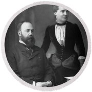 Charles Wentworth Dilke (1843-1911) Round Beach Towel