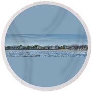 Charleston Banner Round Beach Towel