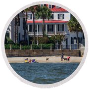 Charleston Beach Round Beach Towel