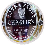 Charlie's Own Round Beach Towel