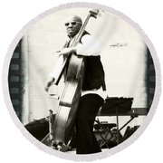 Charnett On Film Round Beach Towel