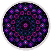 Chartres 2013 Round Beach Towel