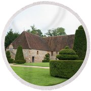 Chateau De Cormatin Stable Round Beach Towel