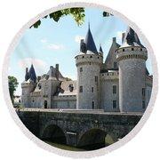 Chateau De Sully-sur-loire Round Beach Towel