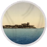 Chateau D'if Round Beach Towel