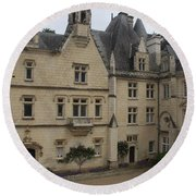 Chateau D'usse Round Beach Towel