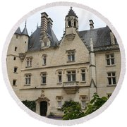 Chateau Usse Round Beach Towel