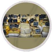 Cheese Round Beach Towel