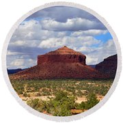 Cheesebox Mesa Round Beach Towel