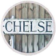 Chelsea Round Beach Towel