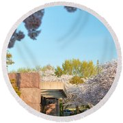Cherry Blossoms 2013 - 021 Round Beach Towel