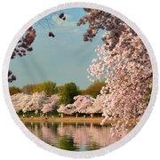 Cherry Blossoms 2013 - 023 Round Beach Towel