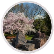 Cherry Blossoms 2013 - 058 Round Beach Towel