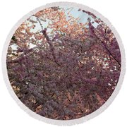 Cherry Blossoms 2013 - 065 Round Beach Towel