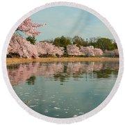 Cherry Blossoms 2013 - 083 Round Beach Towel