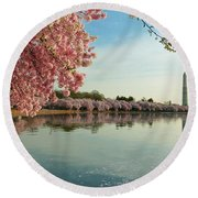 Cherry Blossoms 2013 - 084 Round Beach Towel