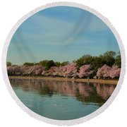 Cherry Blossoms 2013 - 088 Round Beach Towel