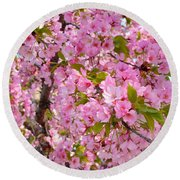 Cherry Blossoms 2013 - 097 Round Beach Towel