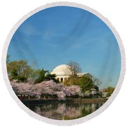 Cherry Blossoms 2013 - 098 Round Beach Towel