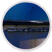 Chevrolet 2 Round Beach Towel