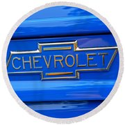 Chevrolet Emblem Round Beach Towel