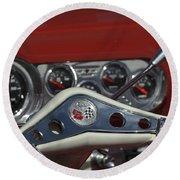 Chevrolet Impala Steering Wheel Round Beach Towel