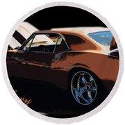 Chevy Camaro 67 Round Beach Towel