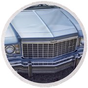 Chevy Caprice  Round Beach Towel