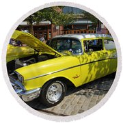 Chevy Classic Round Beach Towel